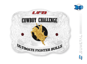 9267F PD - Fivela Country UFB Cowboy Challenge