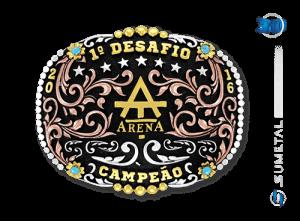 9532FJ - Fivela Country Campeão Desafio Arena