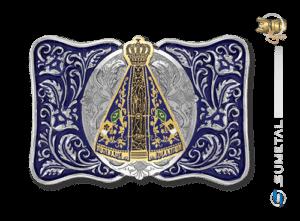 8993FJ ND Azul - Fivela Country Nossa Senhora