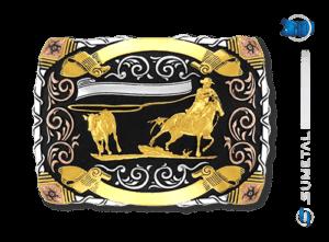 9057FJ PDC - Fivela Country Laço Comprido