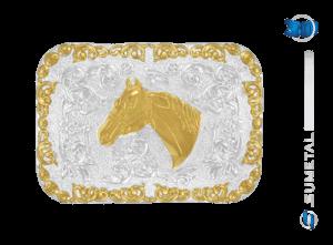 9101F PD - Fivela Country Cabeça de Cavalo