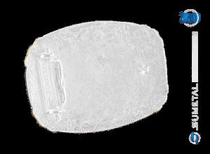 9224FE PDC - Fivela Country ABQM Laço Comprido
