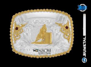 9227F PD -  Fivela Country ABQM Tambor Feminino