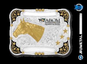 9229F PD - Fivela Country ABQM Cabeça de Cavalo