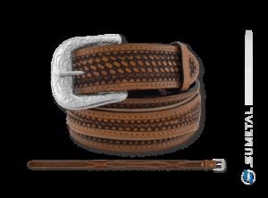 CT0151 - Cinto Country com Aplique