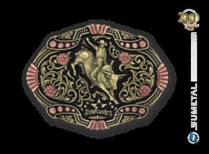 9737FJ OFC - Fivela Country Touro/Almir Cambra