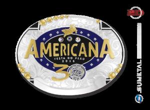 9234F - Fivela Personalizada Country Rodeio Americana