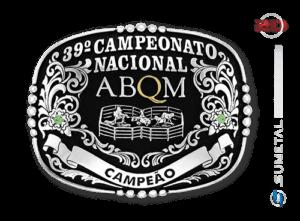 9240FJ -  Fivela Country Campeonato Nacional ABQM 2016