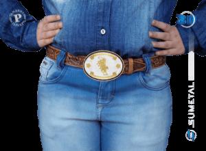 9780F PD - Fivela Country Touro Infantil