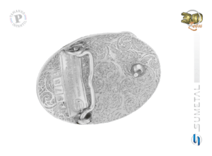 9784FJ ND - Fivela Country Laço Comprido Infantil