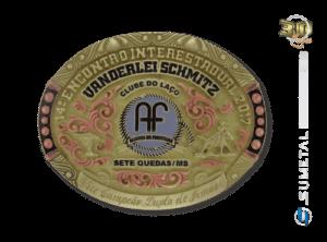 9830F - Fivela Personalizada Country Encontro Interestadual Vanderlei Schimtz