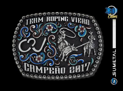 9832FJ Fivela Country Campeão Team Roping Viero