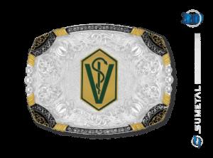 9677F PD - Fivela Country Curso/Veterinária