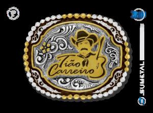 9891FE PD - Fivela Country Tião Carreiro