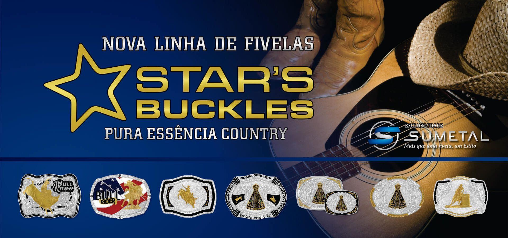 fivelas star's buckles