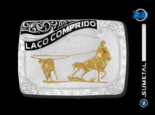 10475F PD - Fivela Country Laço Comprido