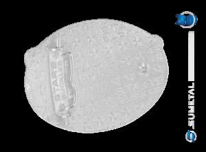 10494F PD - Fivela Country Mula Traiada