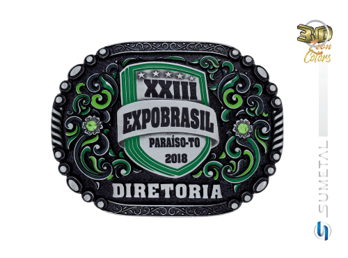 10927FJ Fivela Personaliza Expobrasil