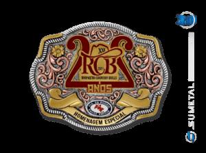 10960FE Fivela Personalizada Rio Preto Country Bulls 2018