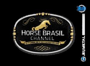8781FJ Fivela Personalizada Horse Brasil Channel