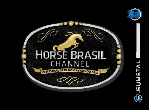 Fivela Personalizada Horse Brasil Channel