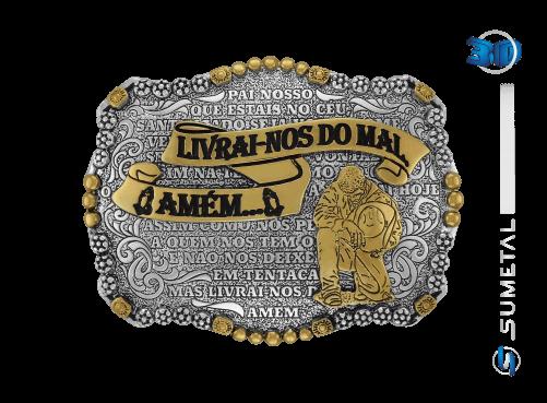 10839FE PD - Fivela Country Pai Nosso