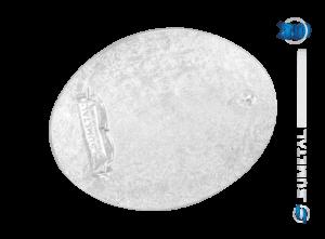 10604F PD - Fivela Country Longhorn/Bandeira
