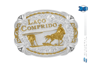 11021F PD - Fivela Country Laço Comprido