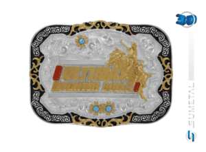 10841F PD - Fivela Country UFB Ultimate Fighter Bulls