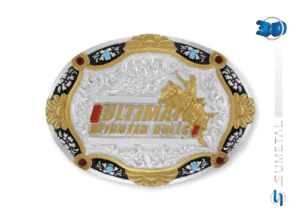 10842F PD - Fivela Country UFB Ultimate Fighter Bulls
