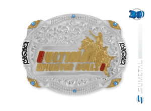 11022F PD - Fivela Country UFB Ultimate Fighter Bulls