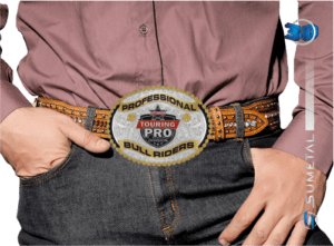 11415F PD - Fivela Country PBR PROFESSIONAL BULL RIDERS