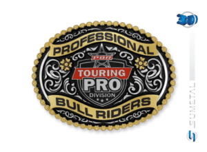 11415FJ PD - Fivela Country PBR PROFESSIONAL BULL RIDERS