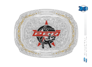 11428F PD - Fivela Country PBR PROFESSIONAL BULL RIDERS