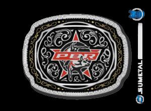 11428FJ - Fivela Country PBR PROFESSIONAL BULL RIDERS