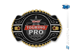 11429FJ PD - Fivela Country PBR PROFESSIONAL BULL RIDERS