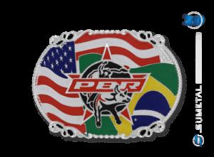 11431FJ PD - Fivela Country PBR PROFESSIONAL BULL RIDERS