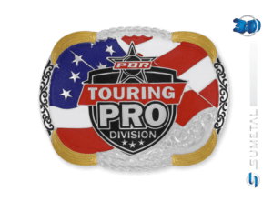 11432F PD - Fivela Country PBR PROFESSIONAL BULL RIDERS