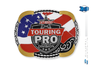 11432FJ PD - Fivela Country PBR PROFESSIONAL BULL RIDERS