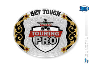 11435F PD - Fivela Country PBR PROFESSIONAL BULL RIDERS
