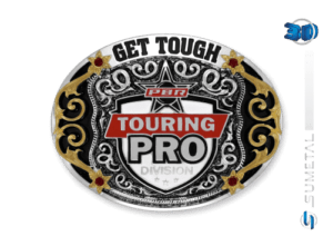 11435FE PD - Fivela Country PBR PROFESSIONAL BULL RIDERS