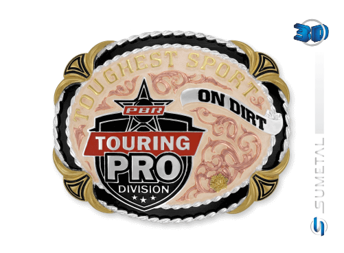 11437FJB PDC - Fivela Country PBR PROFESSIONAL BULL RIDERS