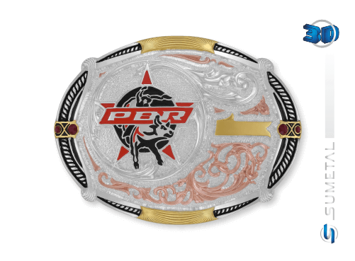 11442F PDC - Fivela Country PBR PROFESSIONAL BULL RIDERS