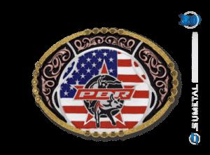 11448FJ PDC - Fivela Country PBR PROFESSIONAL BULL RIDERS