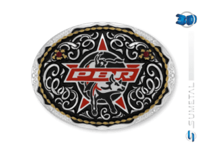 11452FJ PD - Fivela Country PBR PROFESSIONAL BULL RIDERS