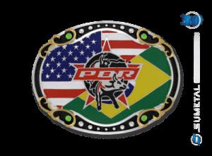 11456FJ PD - Fivela Country PBR PROFESSIONAL BULL RIDERS