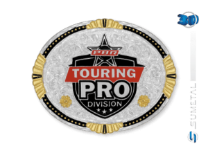 11465F PD - Fivela Country PBR PROFESSIONAL BULL RIDERS
