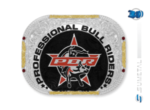 11466F PD - Fivela Country PBR PROFESSIONAL BULL RIDERS