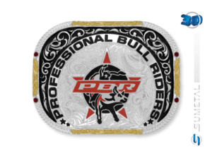 11466FJ PD - Fivela Country PBR PROFESSIONAL BULL RIDERS