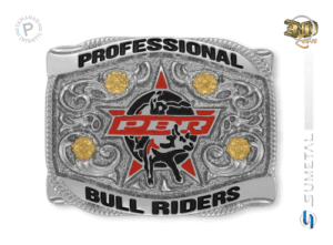 11468F ND - Fivela Country PBR PROFESSIONAL BULL RIDERS